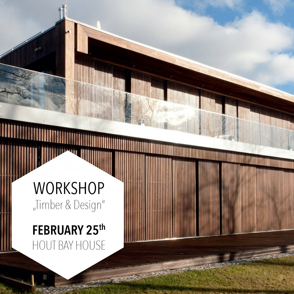 WORKSHOP: Timber & Design